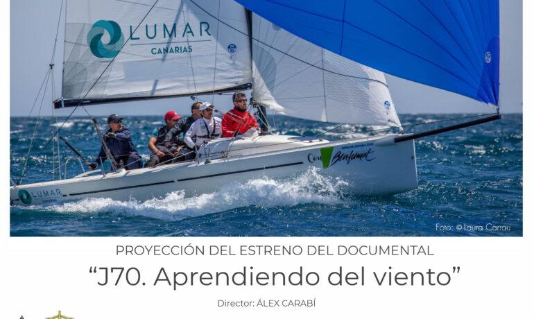 equipo de regatas Lumar Canarias J70